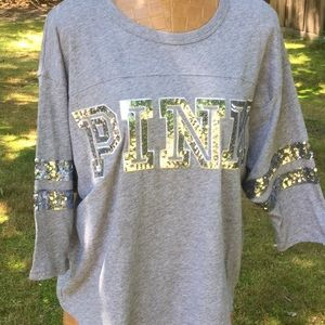 Sequin pink T-shirt